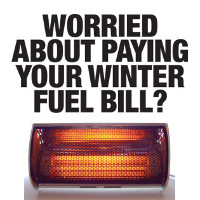 Worried about paying your winter fuel bill?